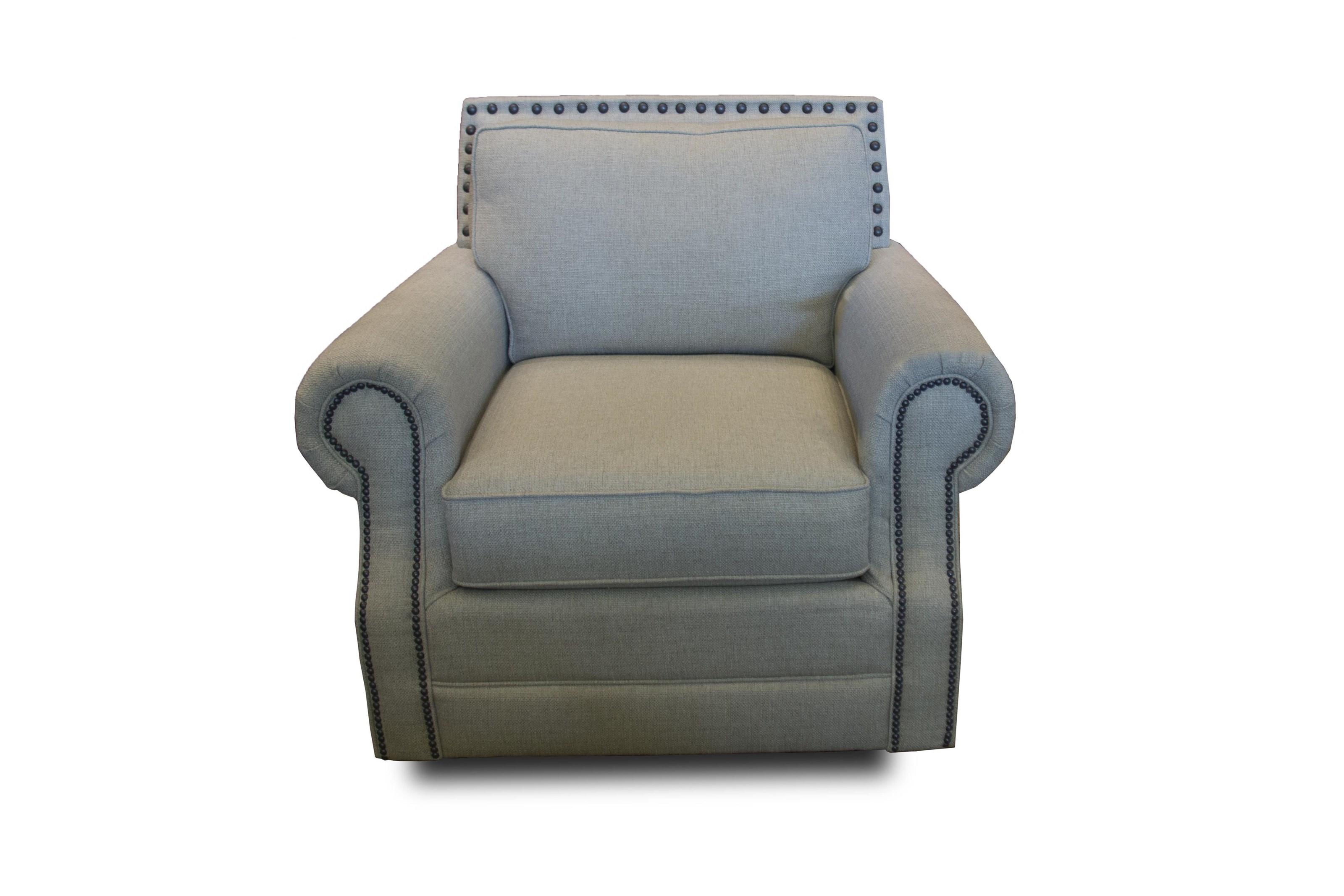 Bassett Hubbard Chair - Item Number: 3902-12H 1474-2 OBNAIL