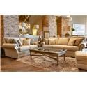 Bassett Hubbard Sofa & Loveseat - Item Number: GRP-3902-SL