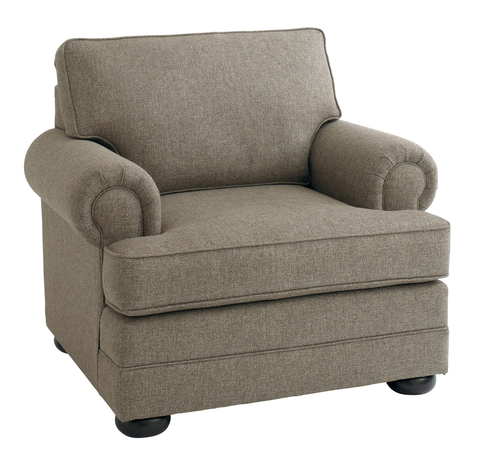 Bassett Hyde Park Chair - Item Number: 3913-12FC-1523-8