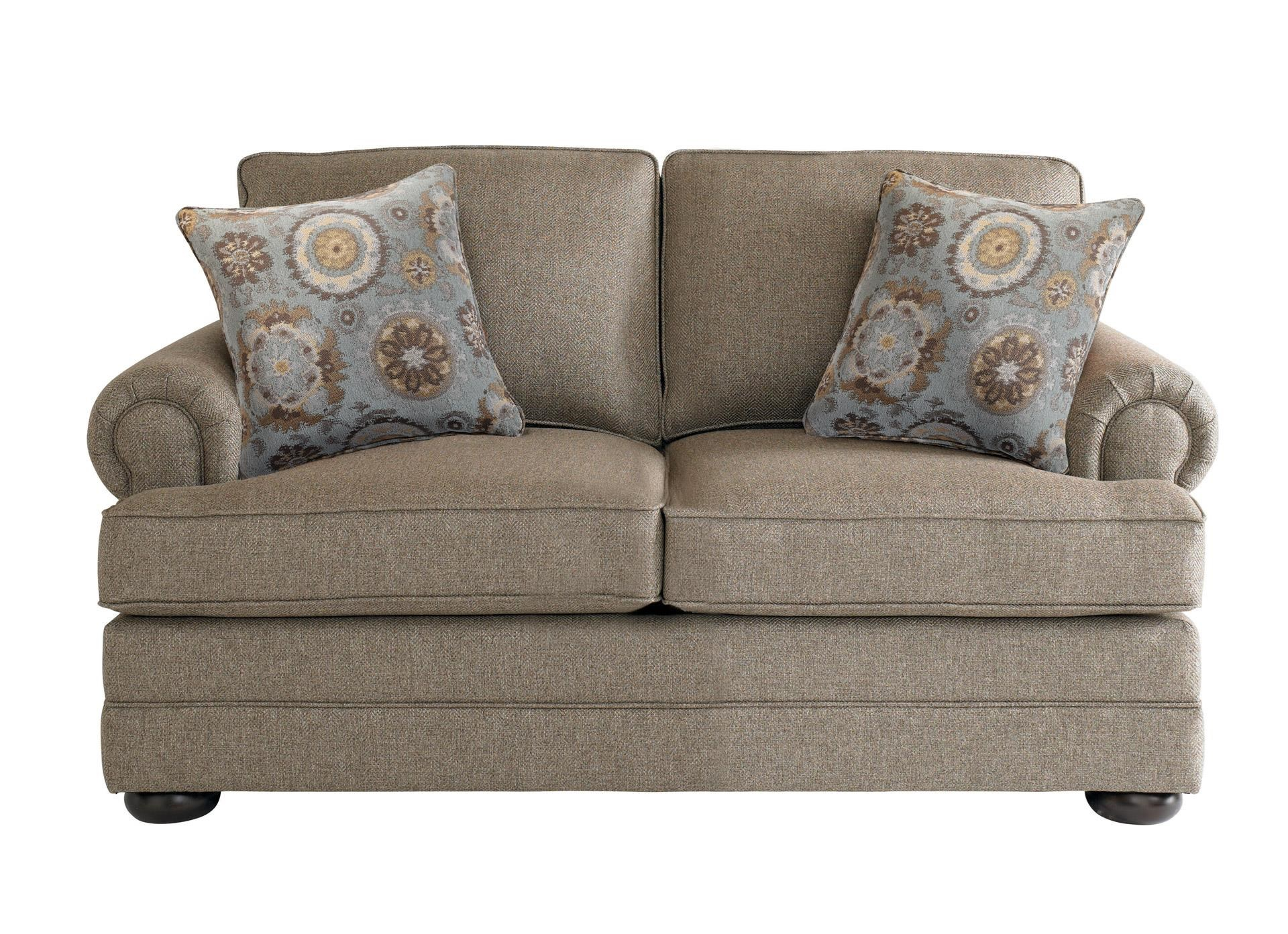 Bassett Hyde Park Loveseat - Item Number: 3913-42FC-1523-8-3350-5