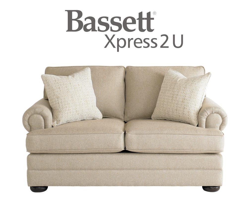 Bassett Hyde Park Loveseat - Item Number: 3913-42FC