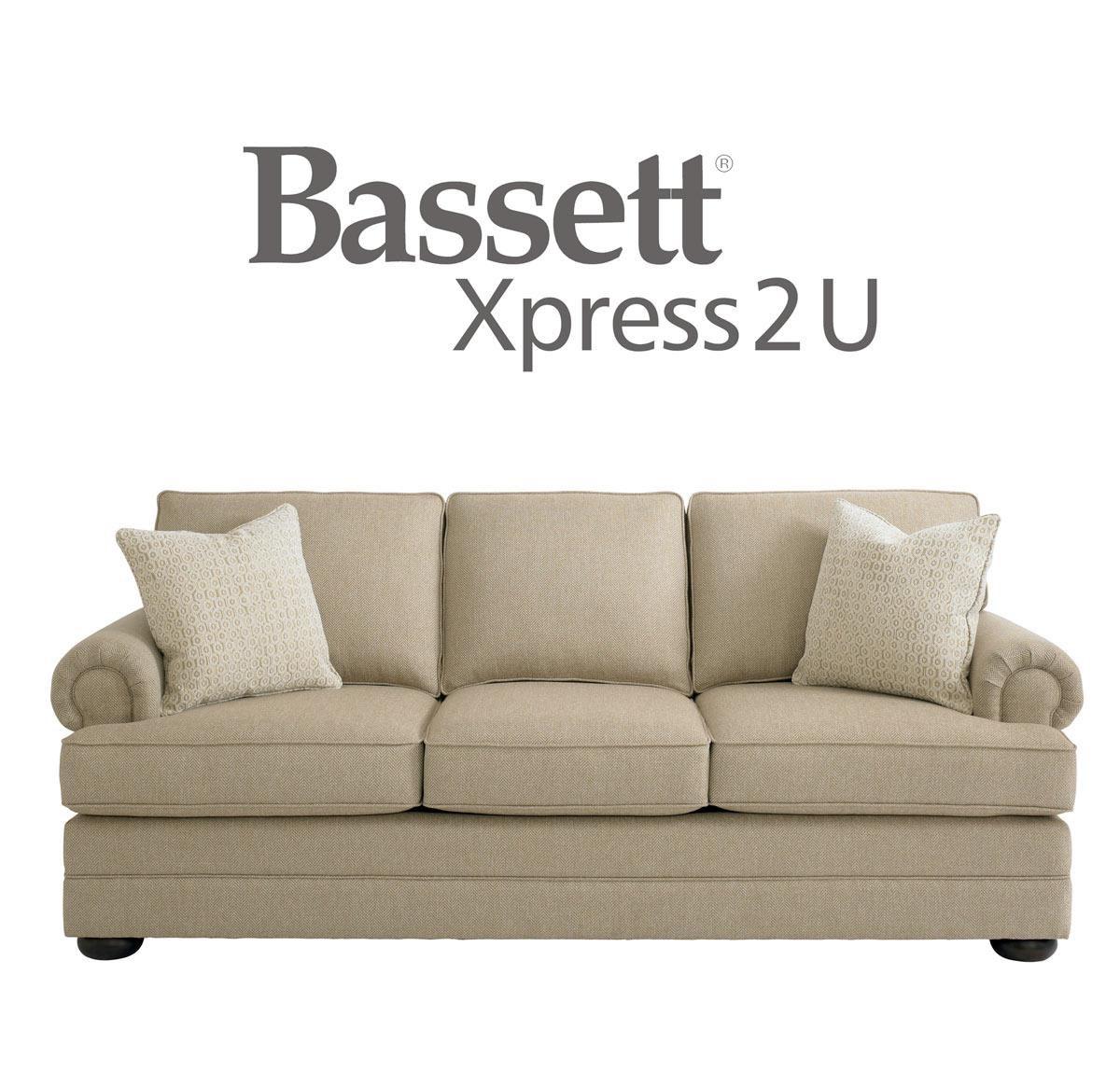 Bassett Hyde Park Sofa - Item Number: 3913-62FC