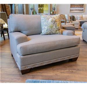 Bassett Carmine Chair & A Half