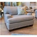 Bassett Carmine Chair & A Half - Item Number: 3917-18FC 1474-19 4309-4 NKNAIL