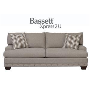 Bassett Carmine Custom Order Sofa