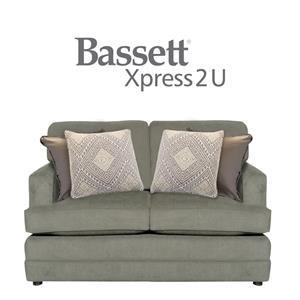 Bassett Dalton Custom Order Loveseat