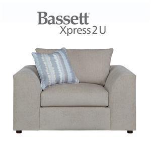 Bassett Uptown Custom Order Chair & a Half
