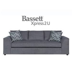 Bassett Uptown Custom Order Sofa