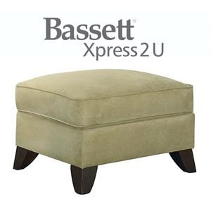 Bassett Tyson Custom Order Ottoman