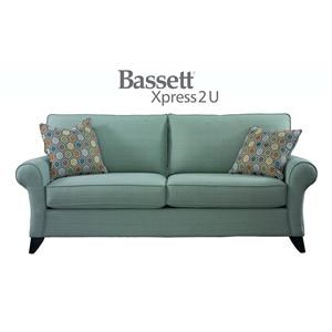 Bassett Tyson Custom Order Queen Sofa Sleeper