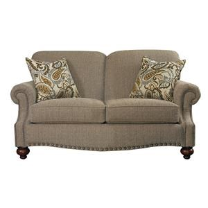 Bassett Club Room Loveseat