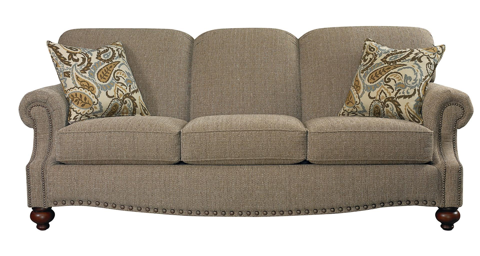 Bassett Club Room Sofa - Item Number: 3991-62FC 1474-8