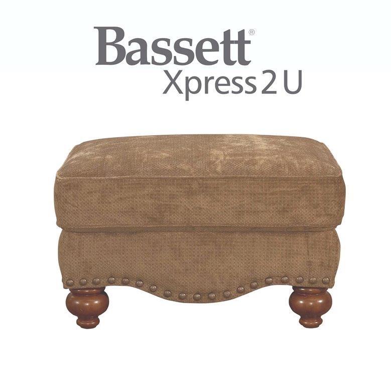 Bassett Club Room Ottoman - Item Number: BASF-3991-01 FC118-2