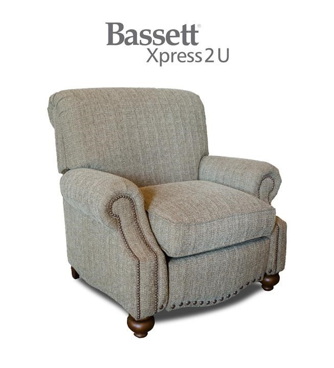 Bassett Club Room Recliner - Item Number: BASF-3991-03 FC118-2