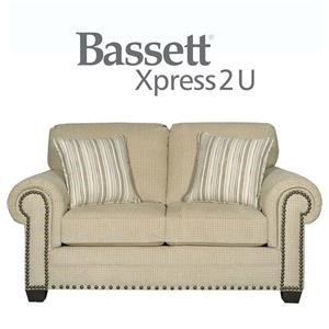 Bassett Riverton Custom Order Loveseat