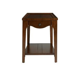 Bassett Madison County Special Order Chairside Wedge Table
