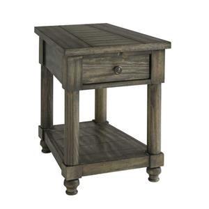 Bassett Ashland Special Order Chairside Wedge Table