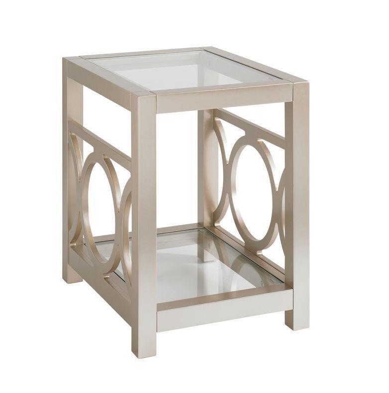 Bassett Fountain Bleu Chairside Table - Item Number: BASF-6266-0626