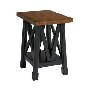 Bassett Cross Key Special Order Chairside Table