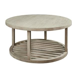 Bassett Lincoln Park Special Order Round Cocktail Table