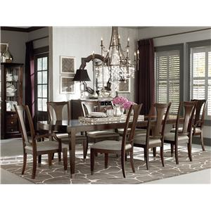 Bassett Cosmopolitan 7Pc Dining Room