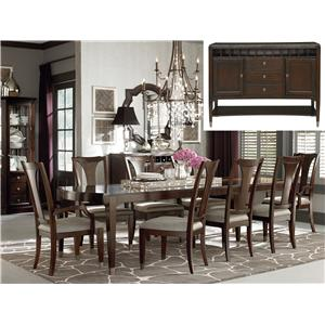 Bassett Cosmopolitan 8Pc Dining Room