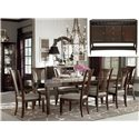 Bassett Cosmopolitan 8Pc Dining Room - Item Number: 4767-4278-8pc