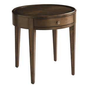 Bassett Palisades Round Lamp Table