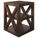 Bassett Axis End Table - Item Number: 6669-0640-AGJAVA