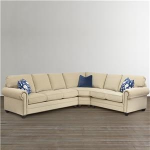 Bassett 7000 L-Shape Sectional