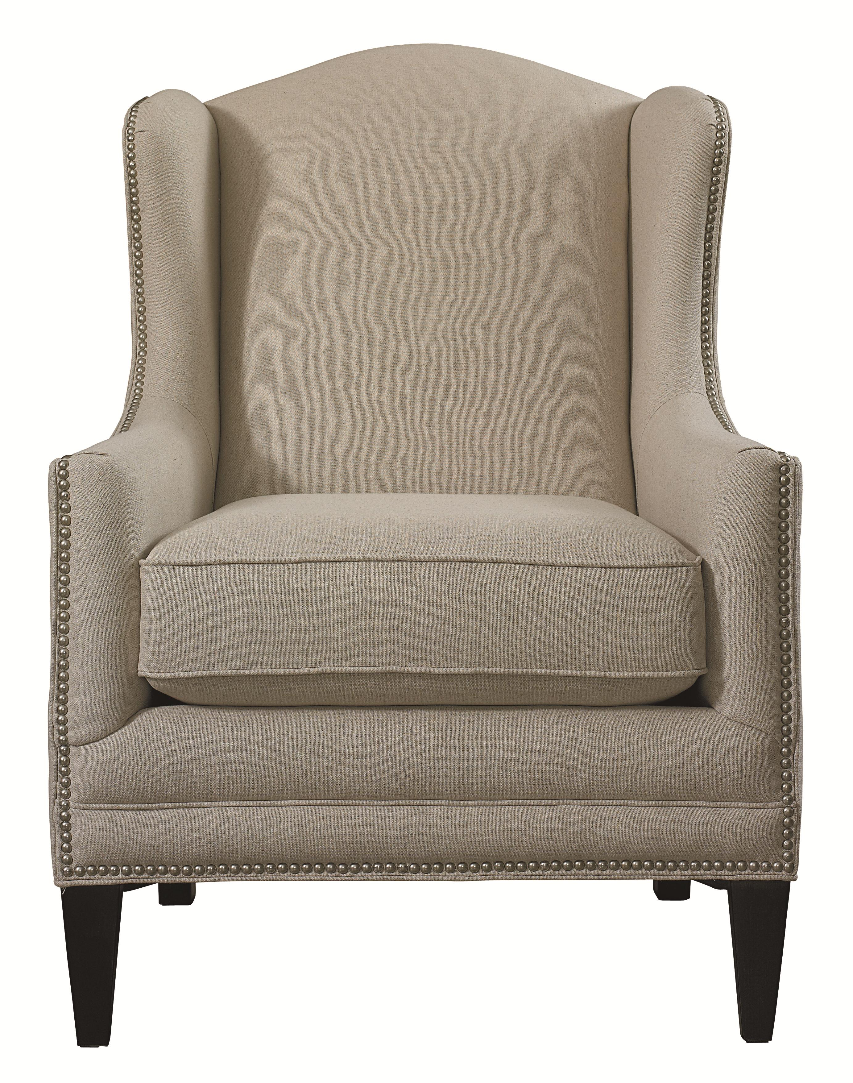 Bassett Accent Chairs by Bassett Fleming Accent Chair - Item Number: 1825-02
