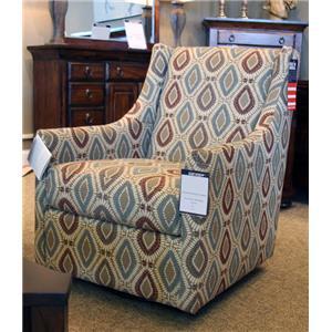 Bassett Accent Chairs Falon Swivel Glider Chair
