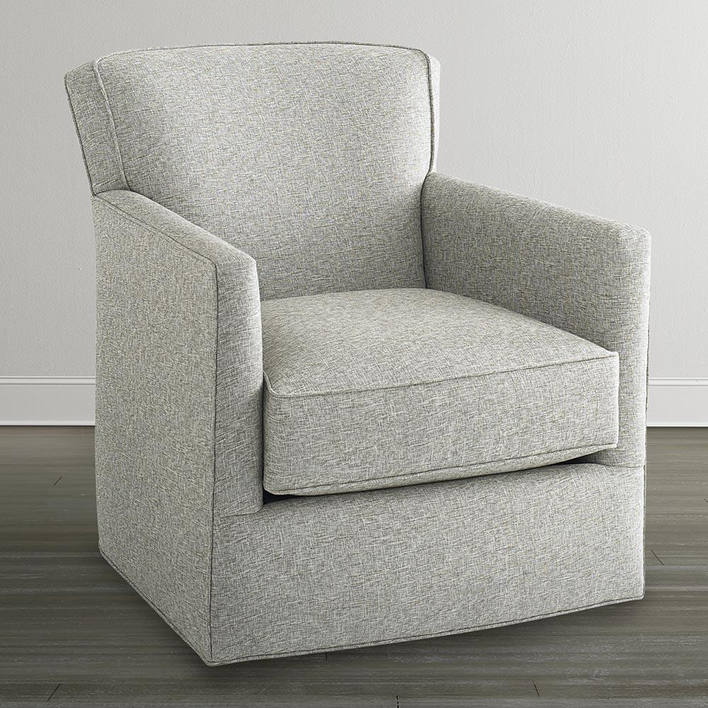 Bassett Accent Chairs by Bassett American Living Swivel Chair - Item Number: BASF-1746-09 1382-2 1382-2