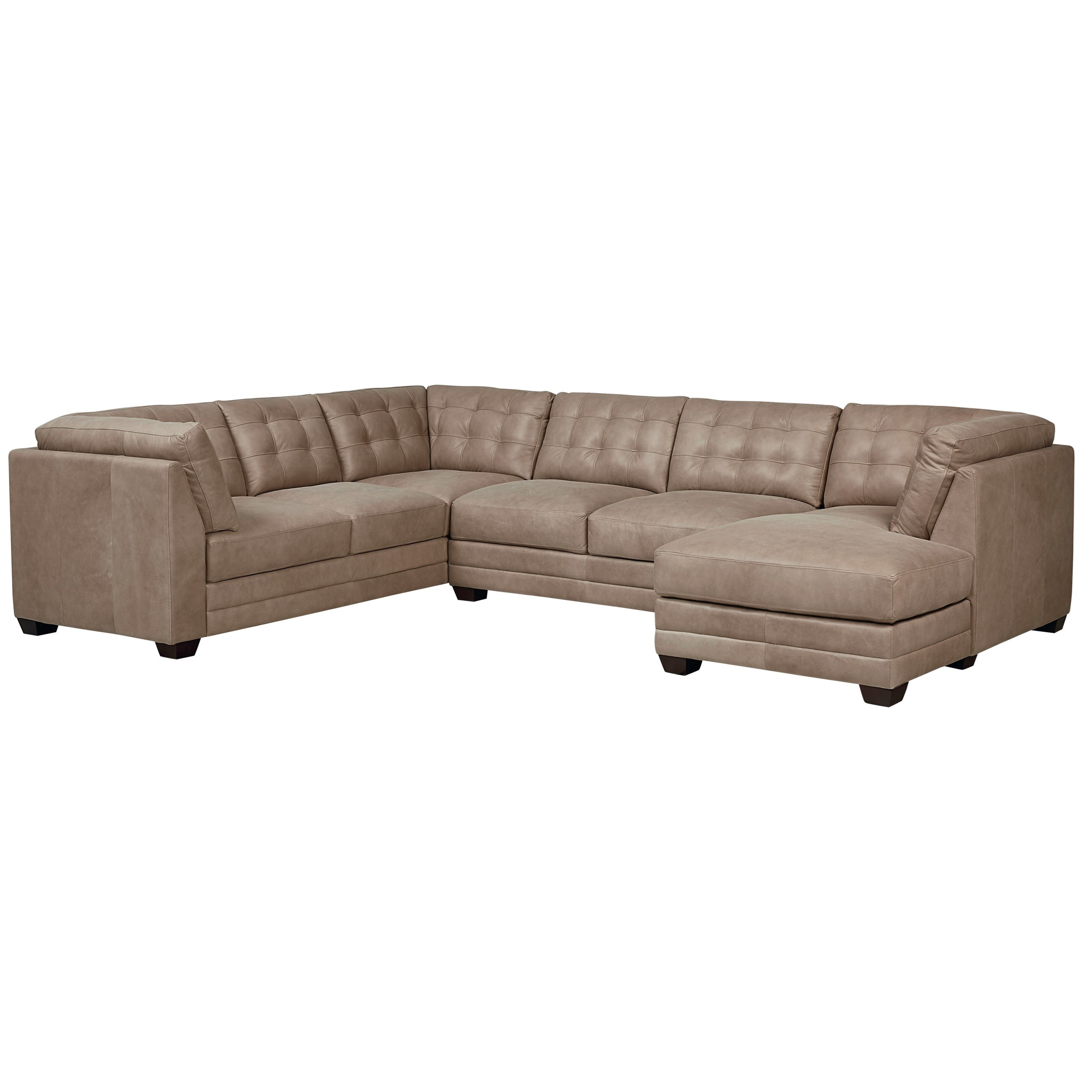 Bassett Affinity 3 Piece Sectional with Chaise | Becker Furniture