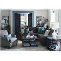 Bassett Alex 3989 L-Shaped Sectional Sofa