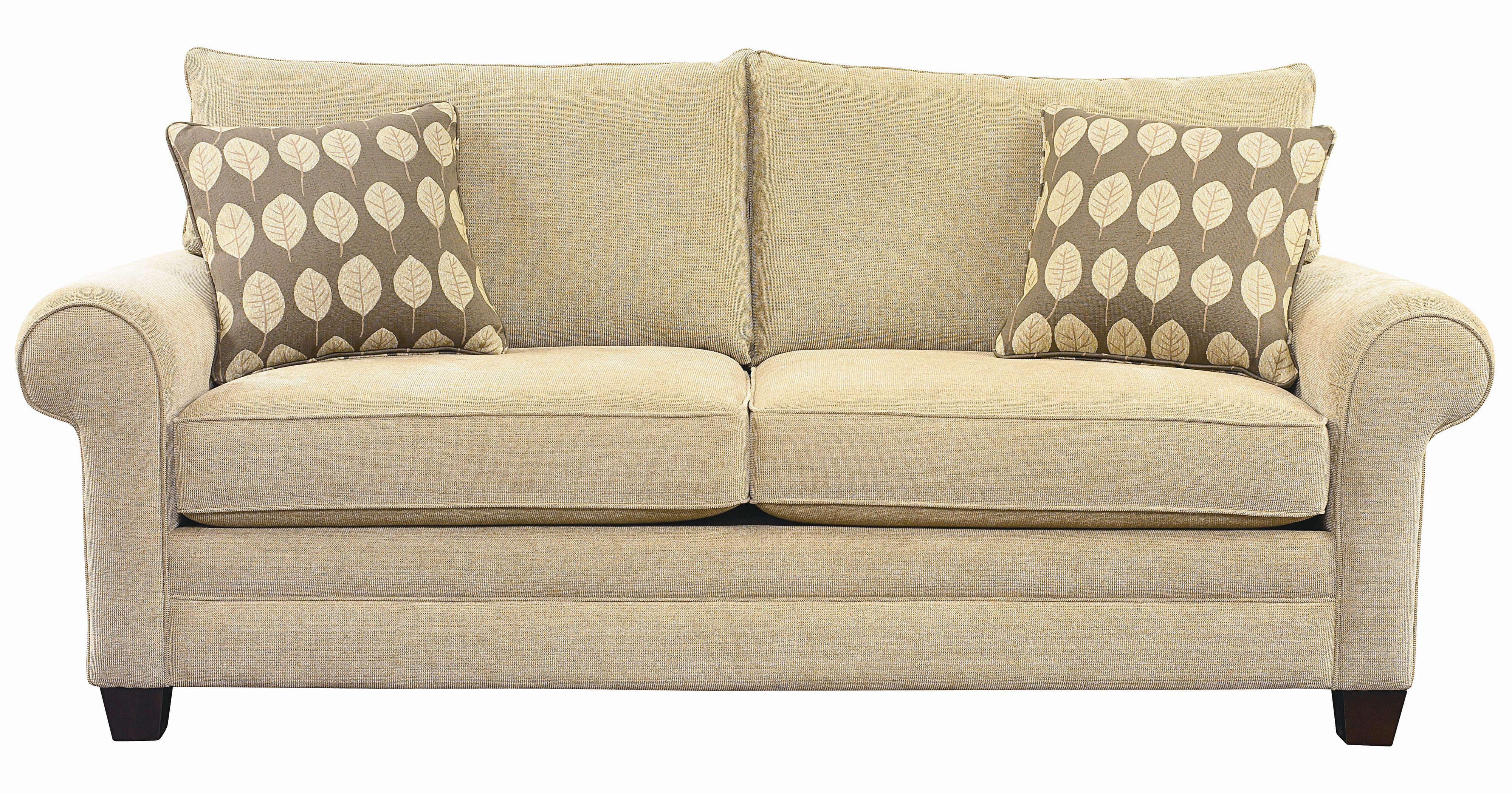Superieur Bassett Alex Sofa With Exposed Wood Wedge Legs | Wayside Furniture | Sofas