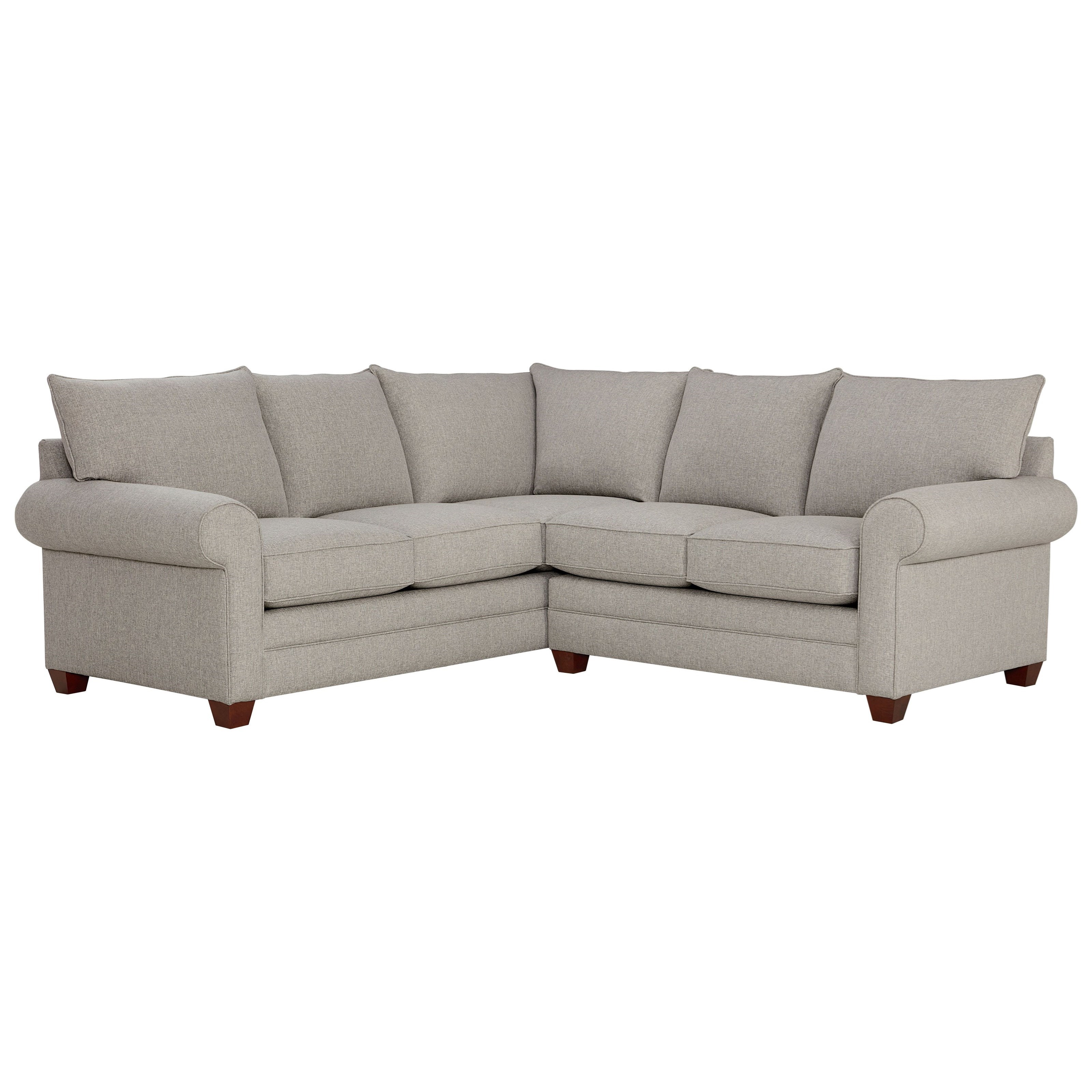 Alexander 2-Piece Sectional by Bassett at Suburban Furniture