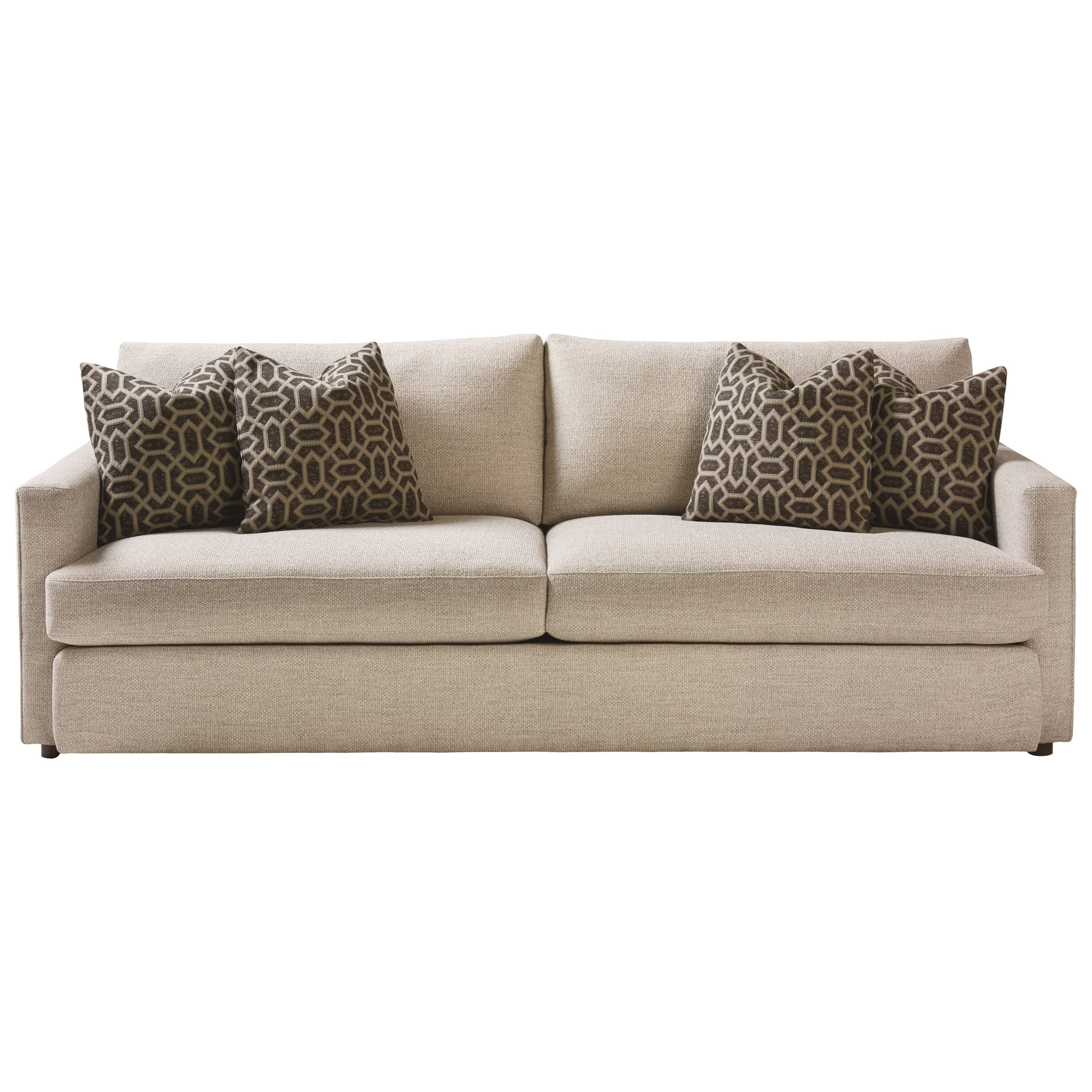Allure Sofa by Bassett at Fisher Home Furnishings