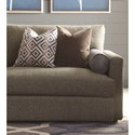 Bassett Allure Contemporary Sectional with 4 Seats