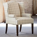 Bassett Arden Dining Chair - Item Number: 1118-02-Beige Plaid