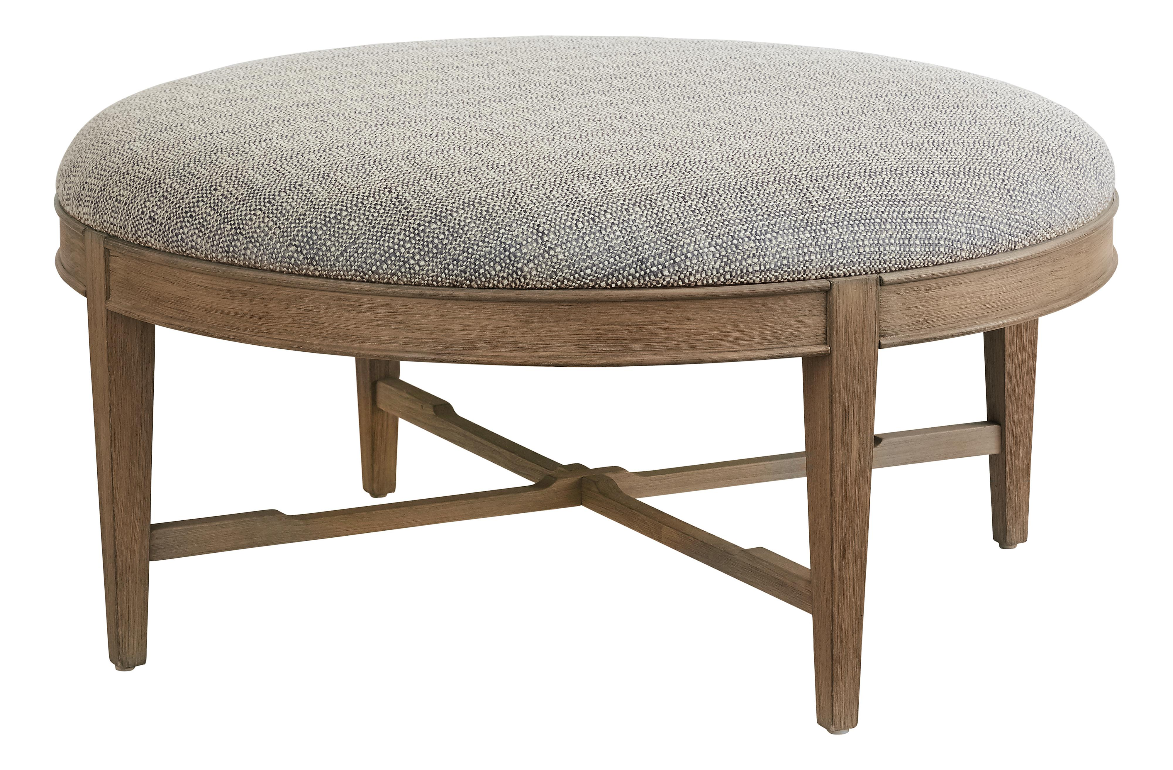 Artisanal Cocktail Ottoman by Bassett at Fisher Home Furnishings
