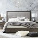 Bassett Modern - Astor and Rivoli Queen Bed - Item Number: 2723-H158+F158+R158