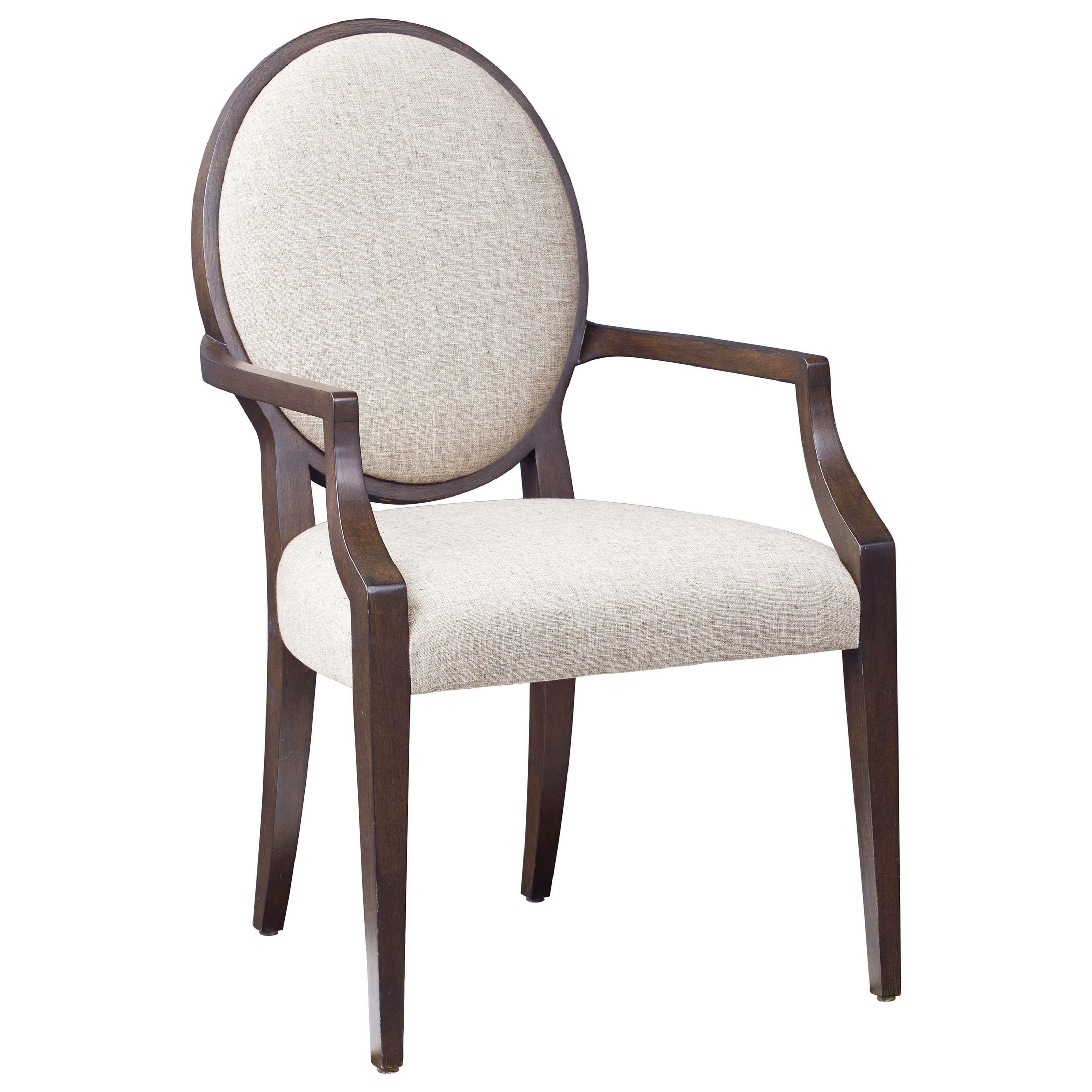Modern - Astor and Rivoli Arm Chair by Bassett at Fisher Home Furnishings