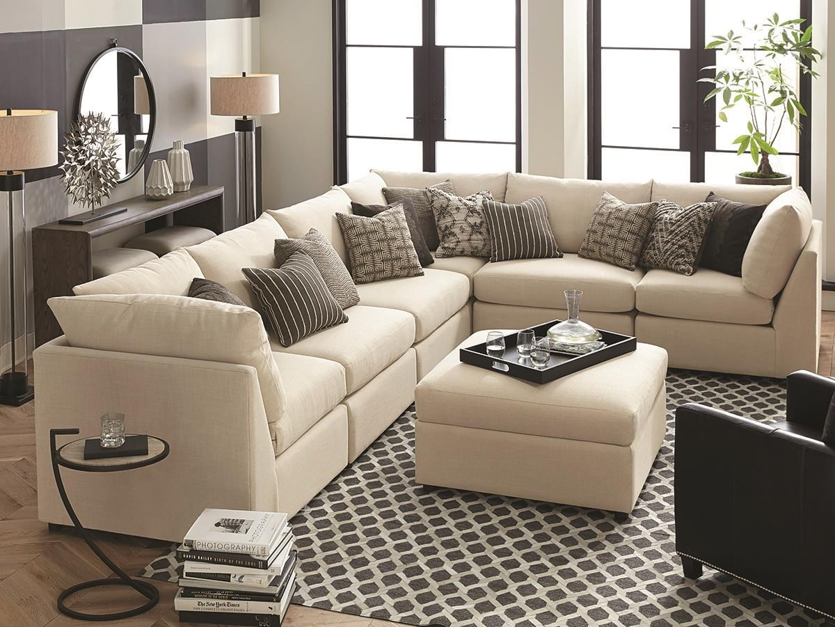 6 Piece Modular Sectional