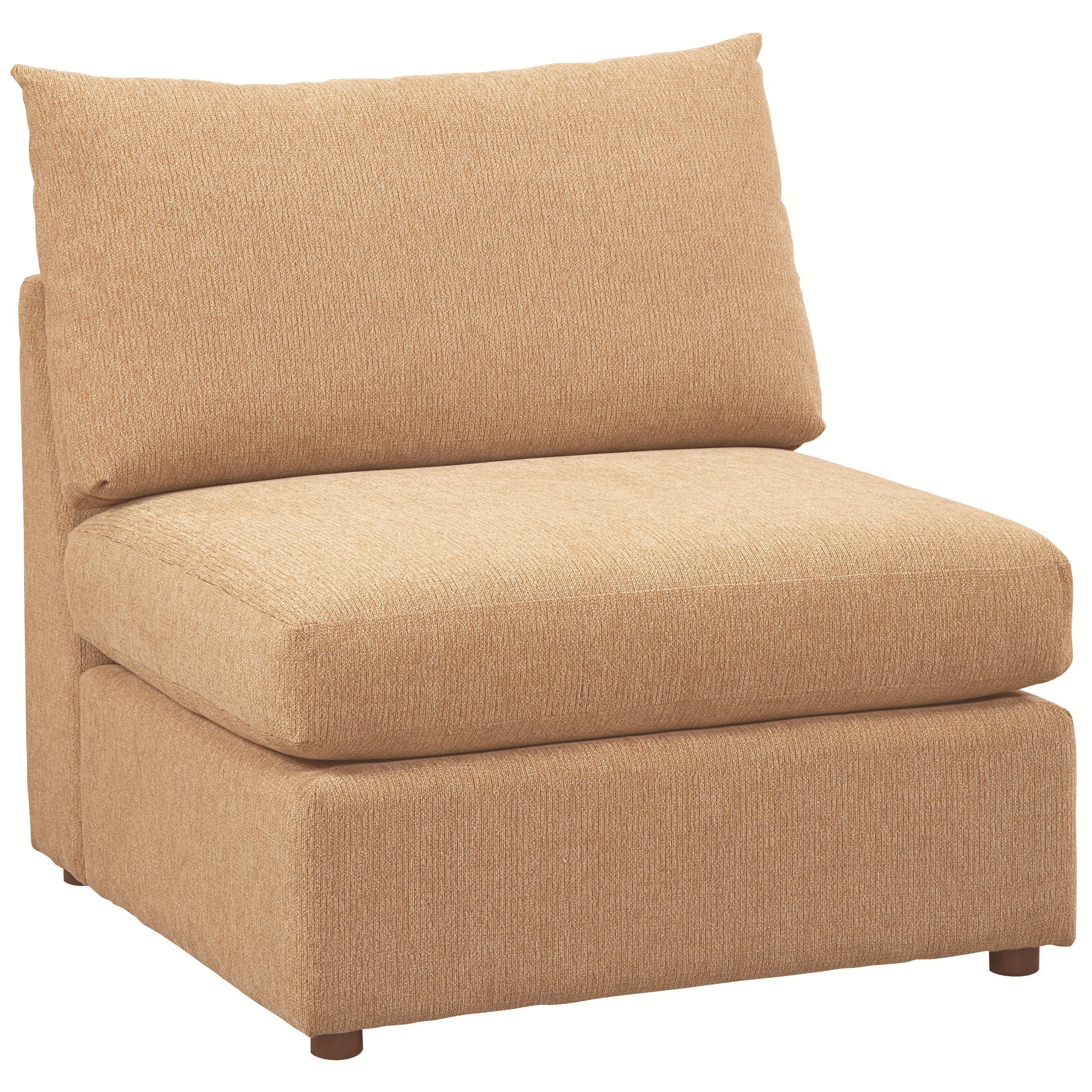 Bassett Beckham 3974 Armless Chair - Item Number: 3974-20FC