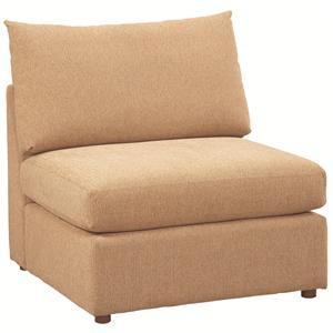 Bassett Beckham 3974 Armless Chair