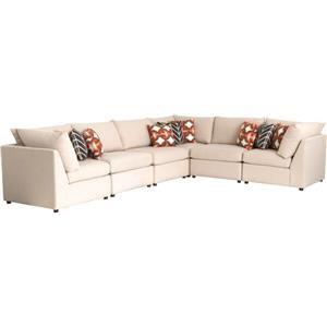 Bassett Beckham 3974 Sectional Sofa