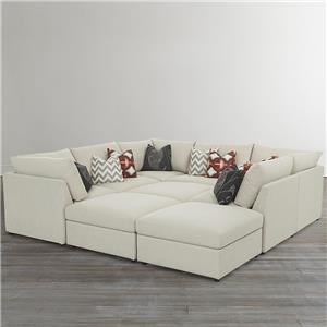 Custom Modular Pit Sectional