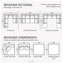 Bassett Beckham 3974 Custom Modular Pit Sectional