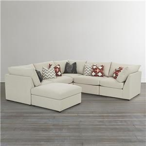 Bassett Beckham 3974 Custom U-Shaped Modular Sectional